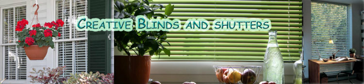 CreativeBlinds: Window Decor, Miniblinds, Wooden Blinds, Vertical Blinds, Shades, Shutters